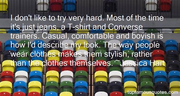 Quotes About Casual Clothes