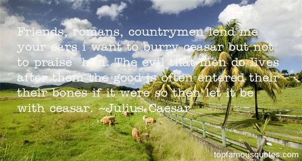 Quotes About Ceasar