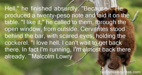Quotes About Cervantes