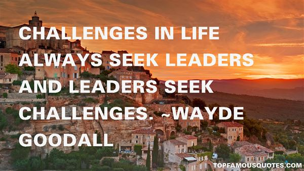 Quotes About Challenges In Life