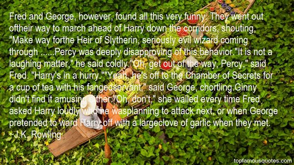 Quotes About Chamber Of Secrets