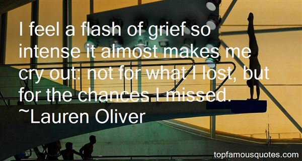 Quotes About Chances Missed