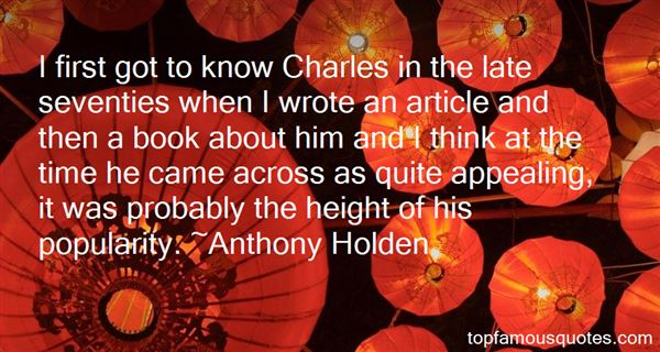 Quotes About Charles