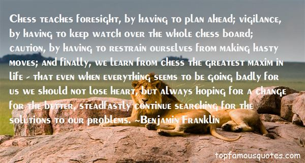 Quotes About Chess Moves