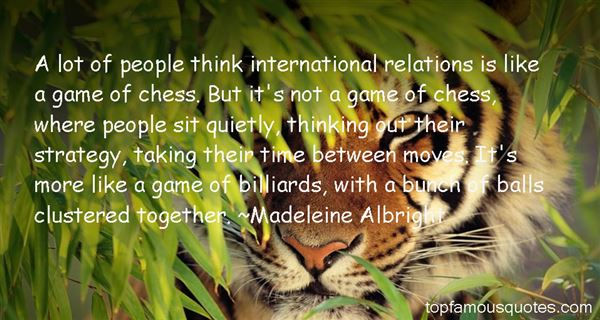 Quotes About Chess Strategy