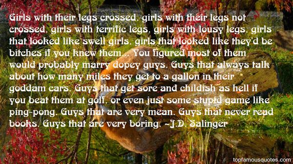 Quotes About Childish Guys