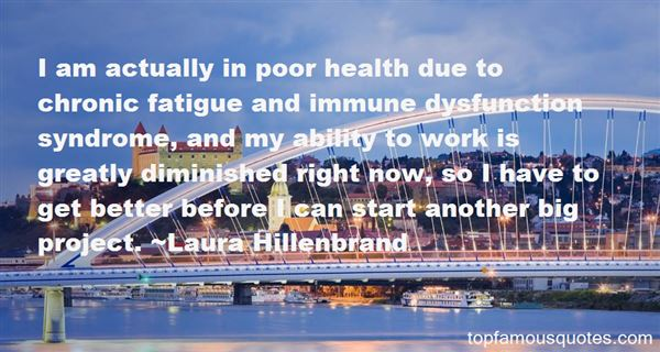 Quotes About Chronic Fatigue