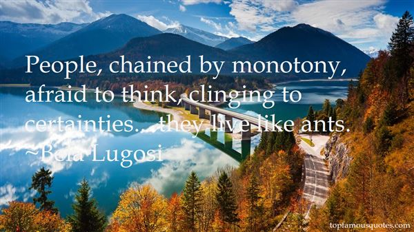 Quotes About Clinging