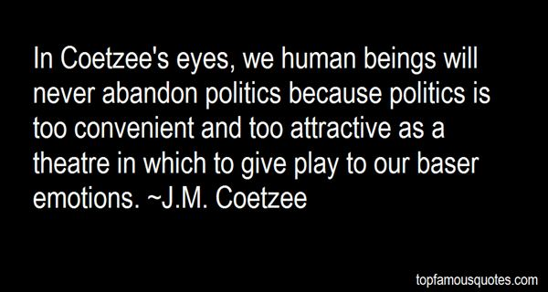 Quotes About Coetzee