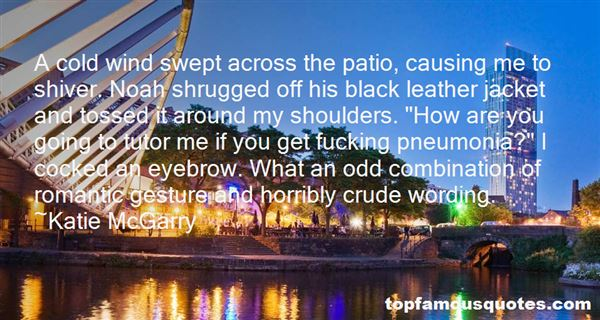 Quotes About Cold Shoulders
