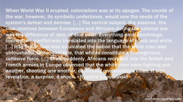 Quotes About Colonialism In Africa