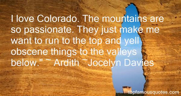 Quotes About Colorado Mountains