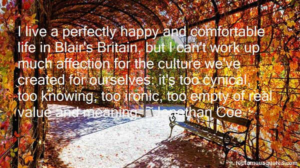 Quotes About Comfortable Life