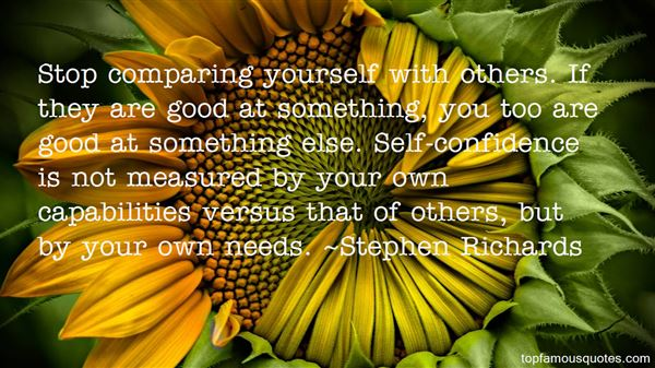 Quotes About Comparing Yourself To Others