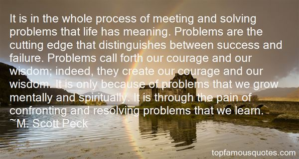 Quotes About Confronting Problems