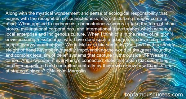 Quotes About Connectedness