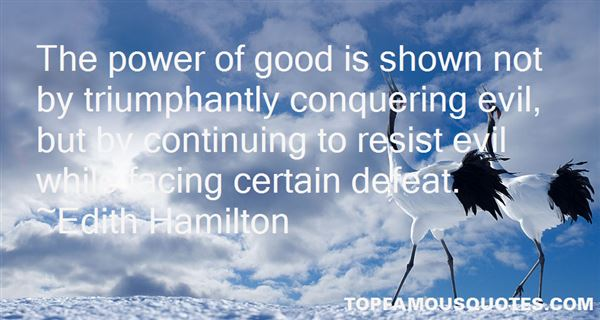 Quotes About Conquering Evil