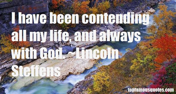 Quotes About Contending