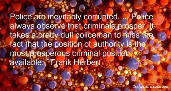 Quotes About Corrupt Police