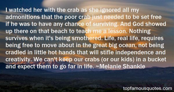 Quotes About Crabs In A Bucket