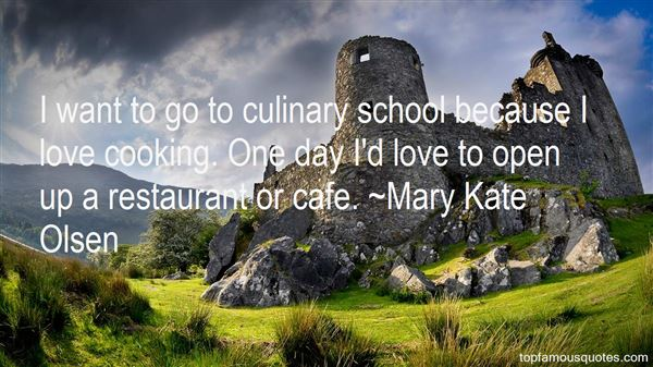 Quotes About Culinary Love