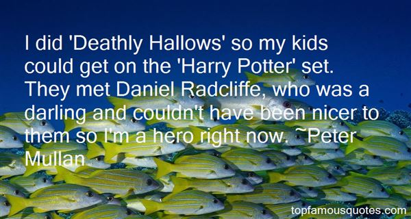 Quotes About Deathly Hallows