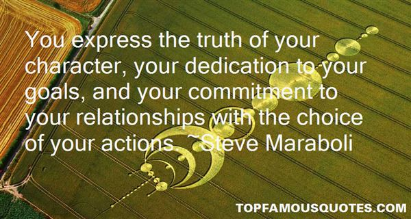 Quotes About Dedication And Commitment