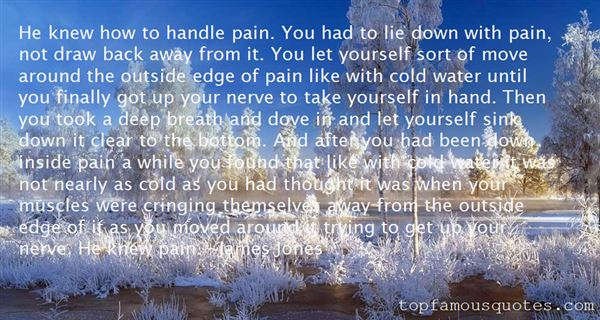 Quotes About Deep Pain