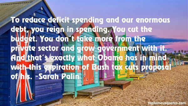 Quotes About Deficit Spending