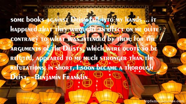 Quotes About Deist