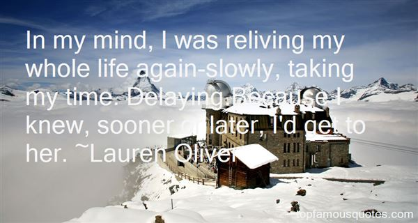 Quotes About Delaying