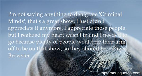Quotes About Denigrate