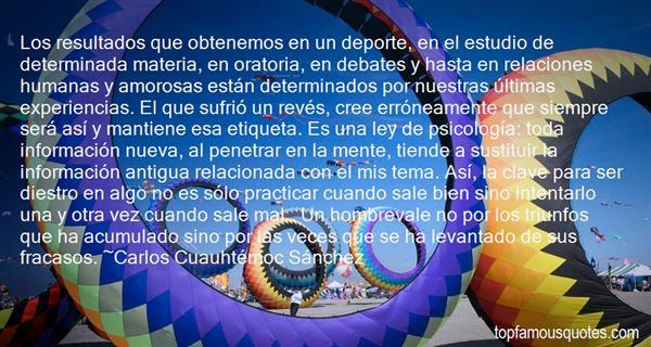 Quotes About Deporte