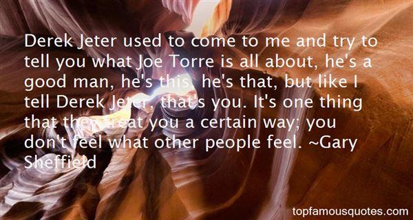 Quotes About Derek Jeter