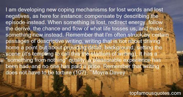Quotes About Descriptive Writing