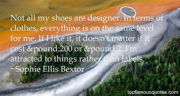 Quotes About Designer Clothes