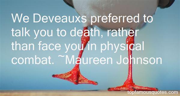 Quotes About Deveaux