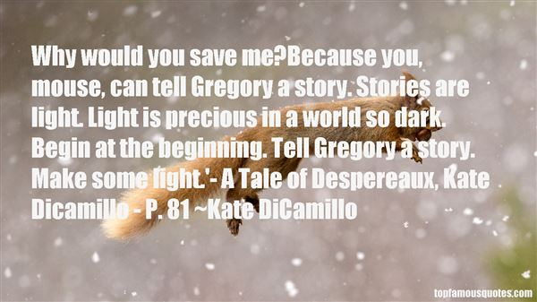 Quotes About Dicamillo
