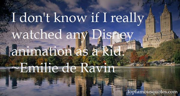 Quotes About Disney Animation