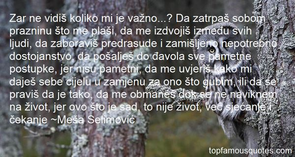 Quotes About Dostojanstvo