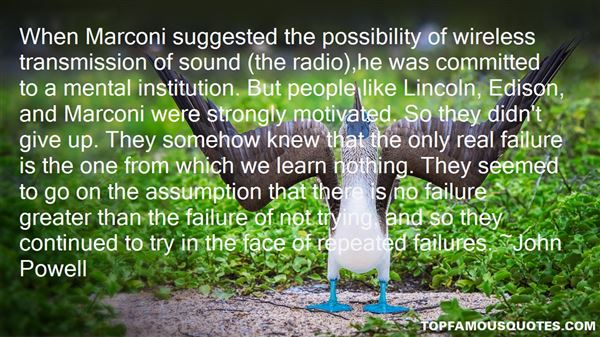 Quotes About Edison Failures