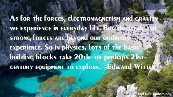 Quotes About Electromagnetism