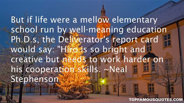 Quotes About Elementary Education