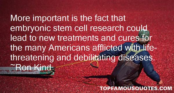 Quotes About Embryonic Stem Cell Research
