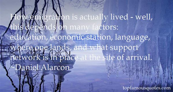 Quotes About Emigration