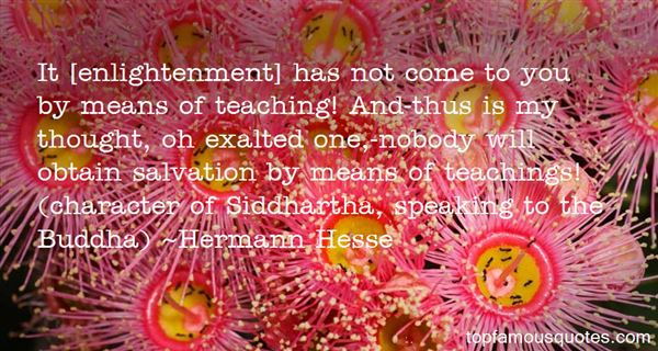 Quotes About Enlightenment In Siddhartha