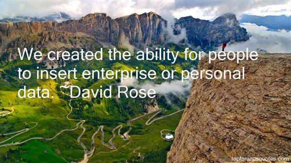 Quotes About Enterprise