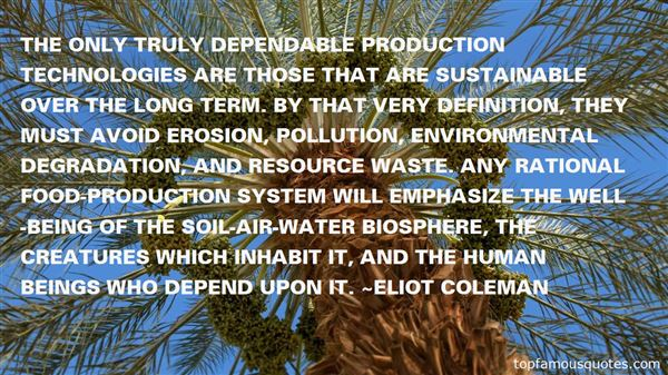 Quotes About Environmental Degradation