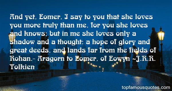 Quotes About Eomer