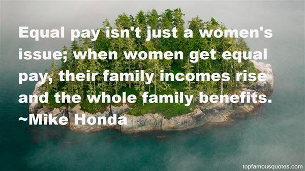 Quotes About Equal Pay